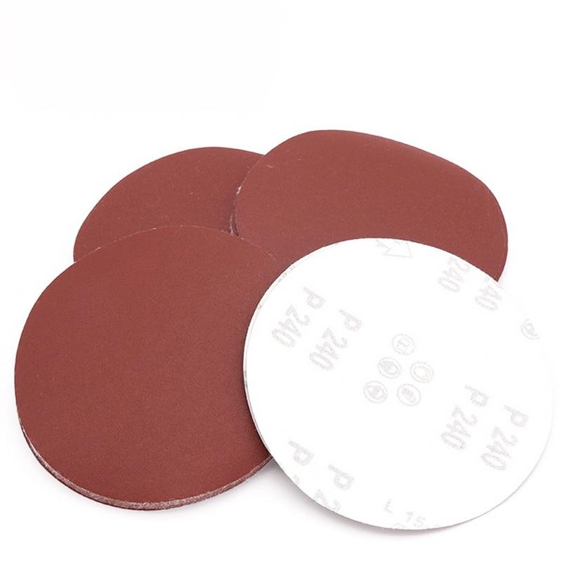 7 Inch Sanding Disc 800 Grits Flocking Sandpaper for Sander 10 Pcs