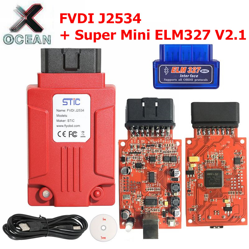 All kinds of cheap motor fvdi j2534 ford in All B