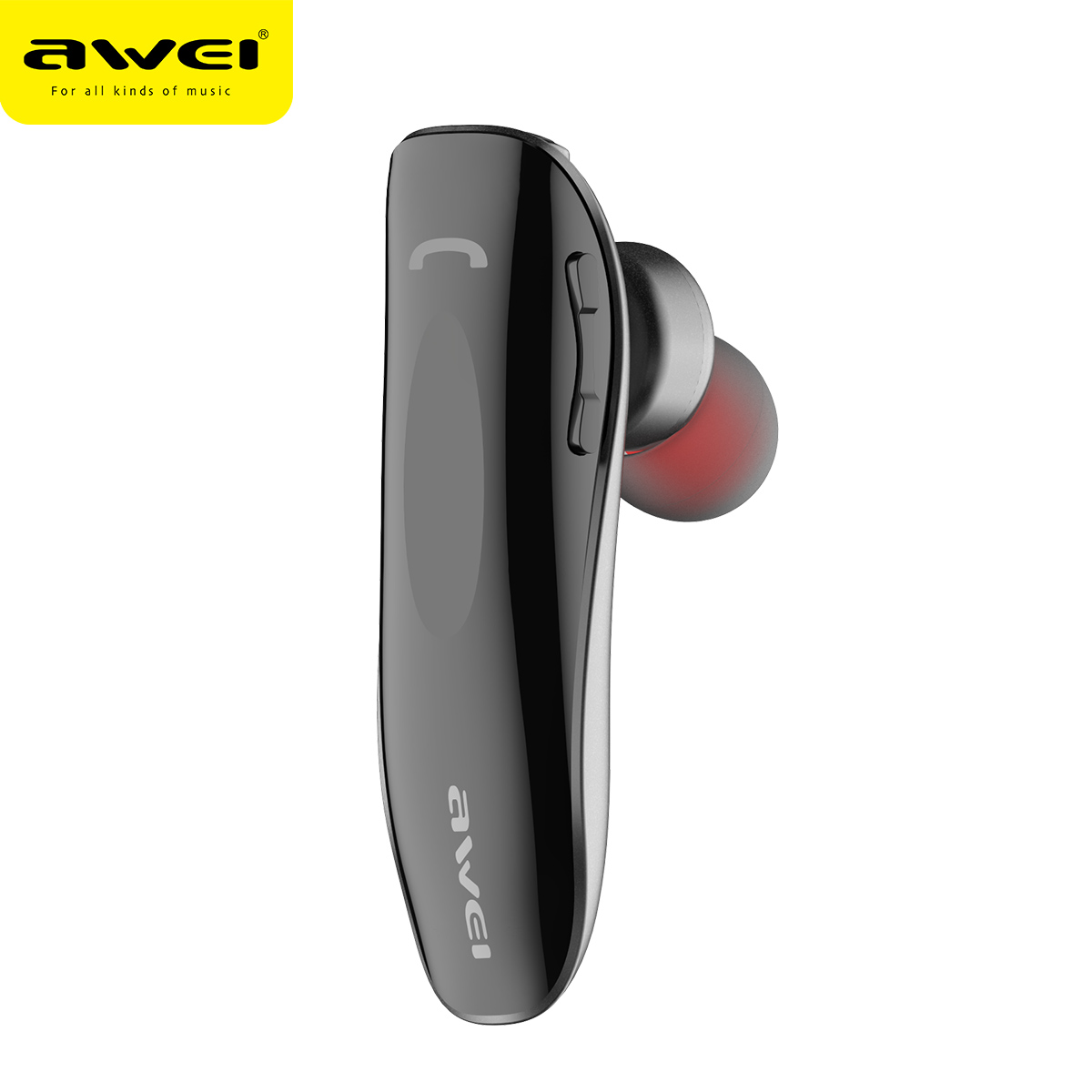 AWEI N1 Bluetooth Earphone Wireless Headphones cordless Mini Business Portable Headset for phone Auriculares Fone de ouvido awei ak7 wireless headphone bluetooth earphone for phone fone de ouvido sport headset cordless earpiece kulakl k headfone