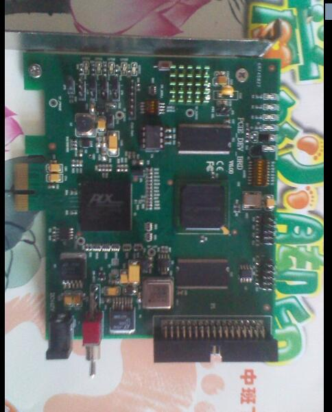 PCIe data acquisition card (pex8311 test board, providing circuit board schematic FPGA routines)