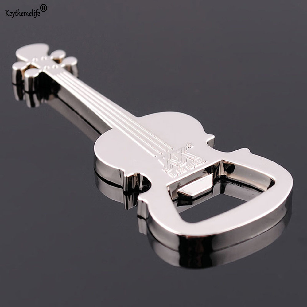 buy keythemelife creative gift zinc alloy beer guitar bottle opener bottle. Black Bedroom Furniture Sets. Home Design Ideas