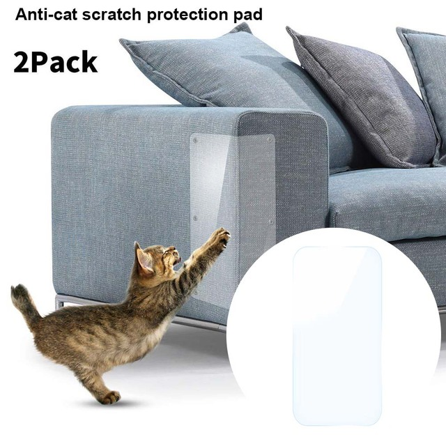 Exceptionnel 2 Pcs Couch Guards Cat Claw Furniture Protector Self Adhesive Anti  Scratching Sofa Protect Pads