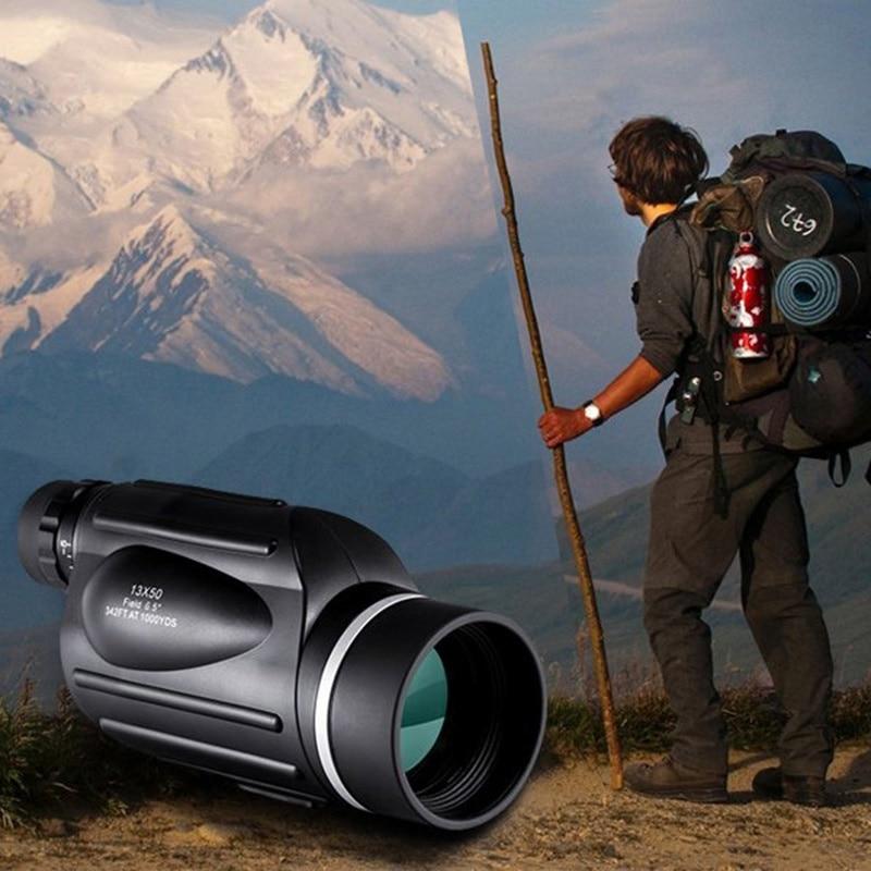 Hiking Monocular Binoculars With Rangefinder Night Vision Function Waterproof Telescope Distance Meter Type Monocular