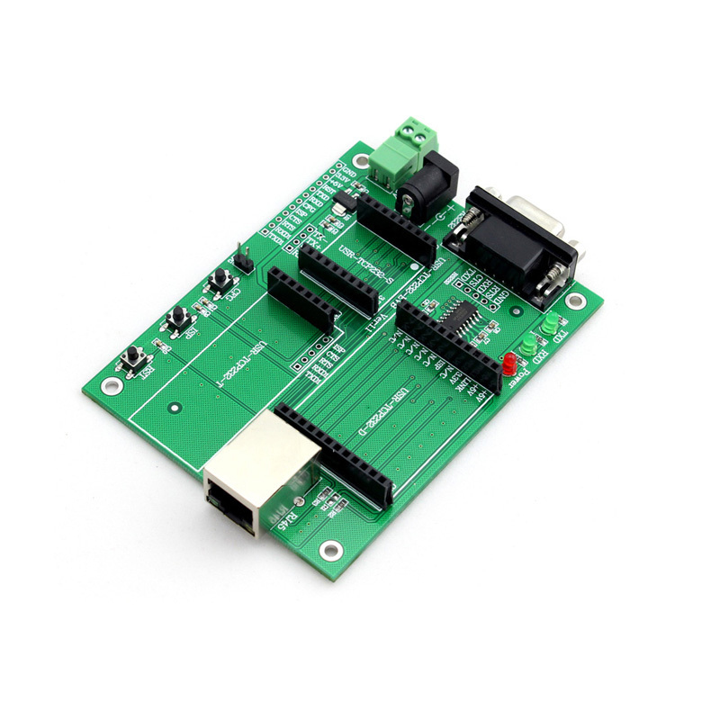 Q046 USR-TCP232-EVB UART TTL to USR-TCP232 TCP/IP Serial Module Evaluation Board цены онлайн