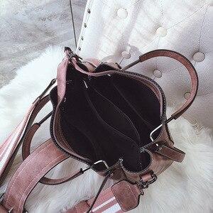 Image 5 - Bolso cruzado de lujo para mujer, PU de cuero de bandolera de bolso de hombro, informal