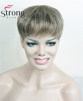 StrongBeauty Toupee Womens Synthetic Hair Short Toupe Lovely Hair Extensions COLOUR CHOICES