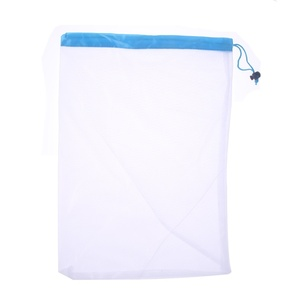 Image 3 - 3+6+3=12 Pcs Reusable Grocery Shopping Bag Adjustable Nylon String Bag Fruit Vegetable Storage Mesh Produce Kitchen Storage Bags