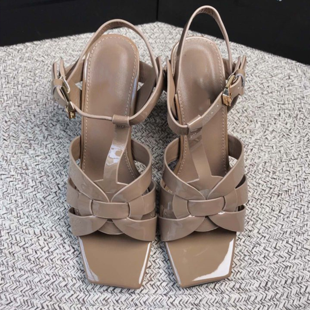 Stkehidba Sexy Women High Heels Pumps Fashion Party Wedding Shoes Woman Comfort Quality Real Leather Summer Sandals Pumps 34-42(China)