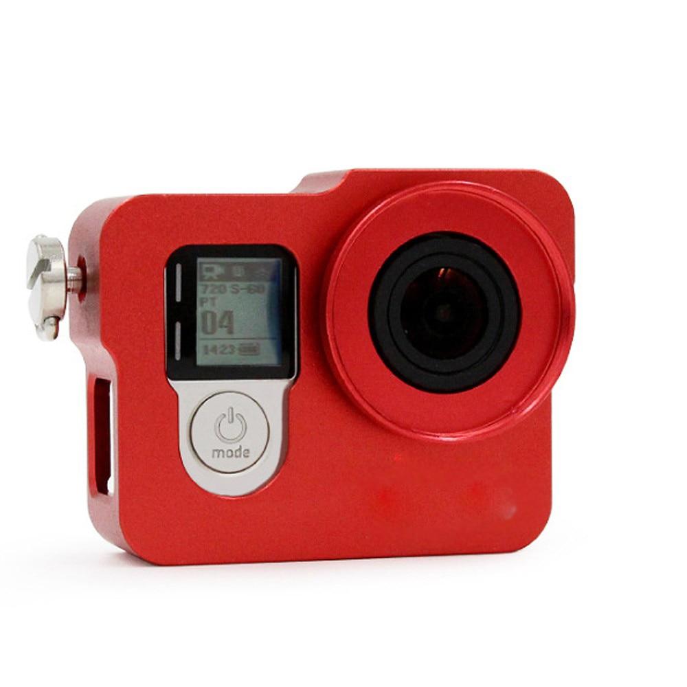 GoPro için Alüminyum Kabuk Çerçeve Koruyucu Konut Case UV Filtre - Kamera ve Fotoğraf - Fotoğraf 5