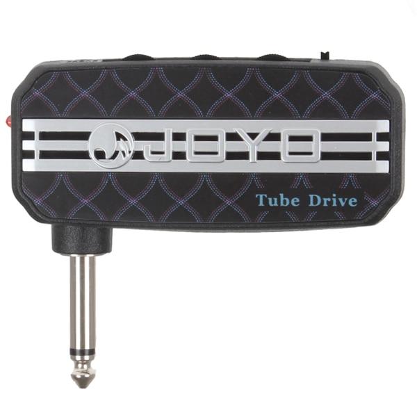 JOYO Electric Guitar Plug Mini Headphone Amp Tube Drive Compact Portable Guitar Amplifier 5pcs vitoos electric guitar plug mini headphone amp amplifier plexi sound compact portable