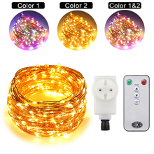 hot deal buy 30m 300leds copper wire led string lights starry lights for wedding and new year fairy lights+ul ce certified (us/eu/uk)adapter