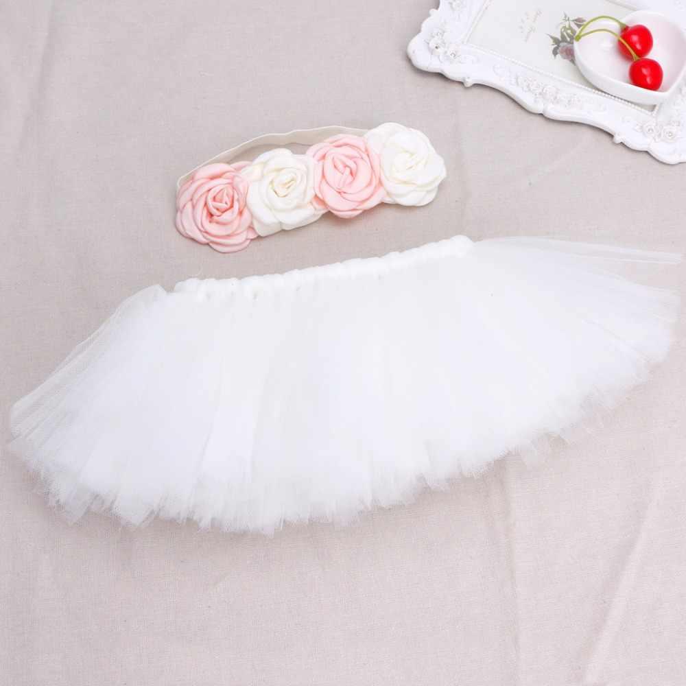 Yenidoğan Fotoğraf Sahne Bebek kostüm kıyafet Prenses Bebek Tutu Etek