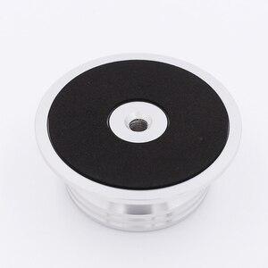 Image 5 - חדש פחמן סיבי אלומיניום סגסוגת LP ויניל פטיפונים מתכת דיסק מייצב שיא משקל/מהדק HiFi