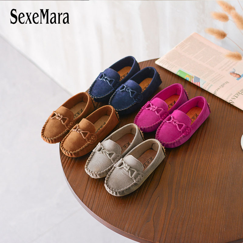 Children Canvas Shoes Spring/Summer Breathable Slip On Casual Kids Sneakers Boys Girls Baby Toddler Infant Flats 4 Colors B02215