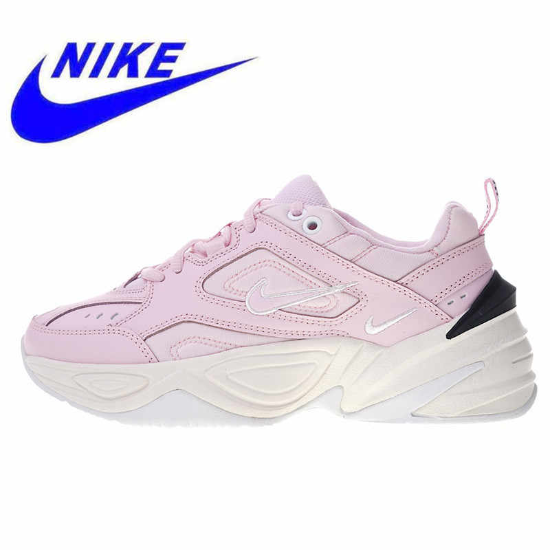 check out 48f9c 4134e Original Nike M2K Tekno Women s Running Shoes High Quality Sports Shoes New  Outdoor Shoes Breathable Shock