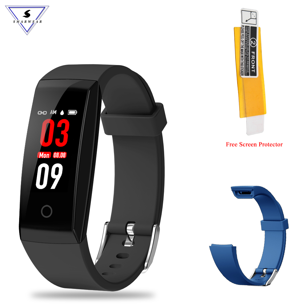 Smart bracelet woman Fatigue fitness activity tracker Heart rate monitor fitness bracelet strap pedometer smart band pk miband 3