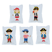 Pirates Sailor Theme Small Pillow Supplies Birthday Party Decoration Upholstery Childrens Room