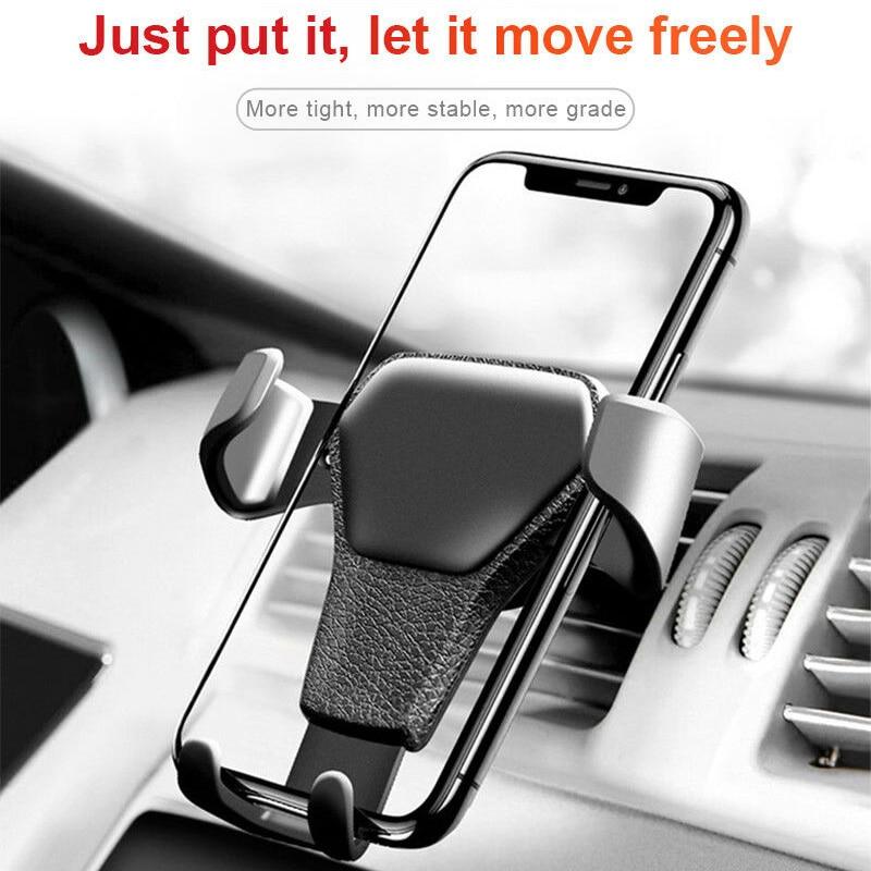 automatic expansion Gravity Car Phone Bracket Air Vent Mount Cradle Holder Universal for Mobile GPS EM88