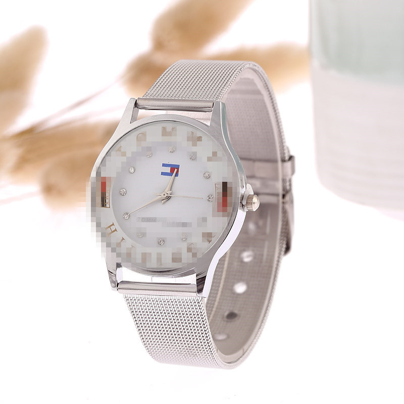 manufacturers hot sales netting watches fashion ladies watches wholesale personality couples men's watches(China)