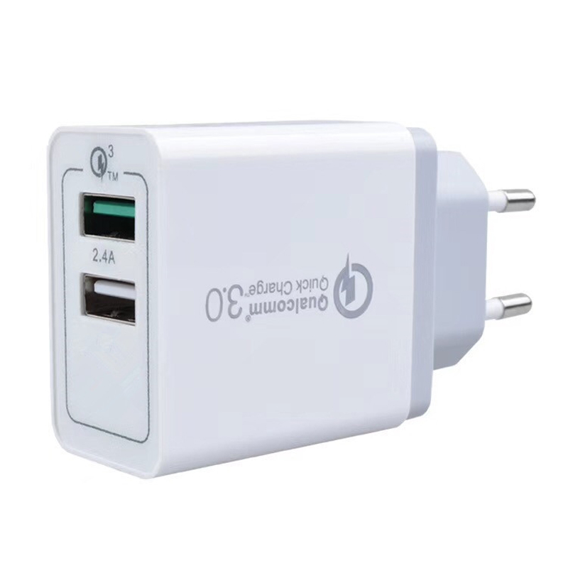 Power Delivery PD Charger Quick Charge QC 3 0 Phone Charger 3 USB Ports AC US EU UK Travel Wall Plugs Mobile Smart Fast Adater in Mobile Phone Chargers from Cellphones Telecommunications