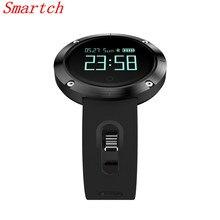 Smartch DM58 умный Браслет Шагомер сна Фитнес трекер Bluetooth SmartBand браслет Беспроводные устройства для IOS Androi