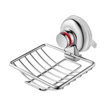 купить Wall Mounted Soap Dish - Stainless Steel Suction Soap Dish Soap Holder Suction Cup for Bathroom Kitchen Organizer по цене 718.72 рублей