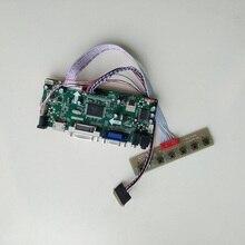 for LP173WD1(TL)(A1)/(TL)(P2) 1600X900 17.3inch Panel Screen  M.NT68676 HDMI DVI VGA LED LCD Controller board Kit DIY