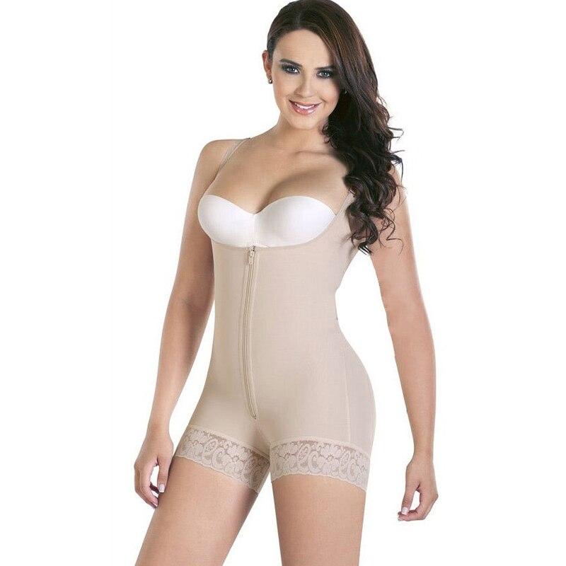458f52492d6f2 TOPMELON Women Sexy Lace Body Shaper Plunge U Underwear Slimming ...