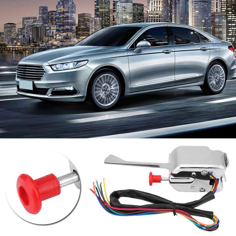 12V Universal Street Hot Rod Turn Signal Switch + Flasher for Ford Buick GMC P021-TS-HL101