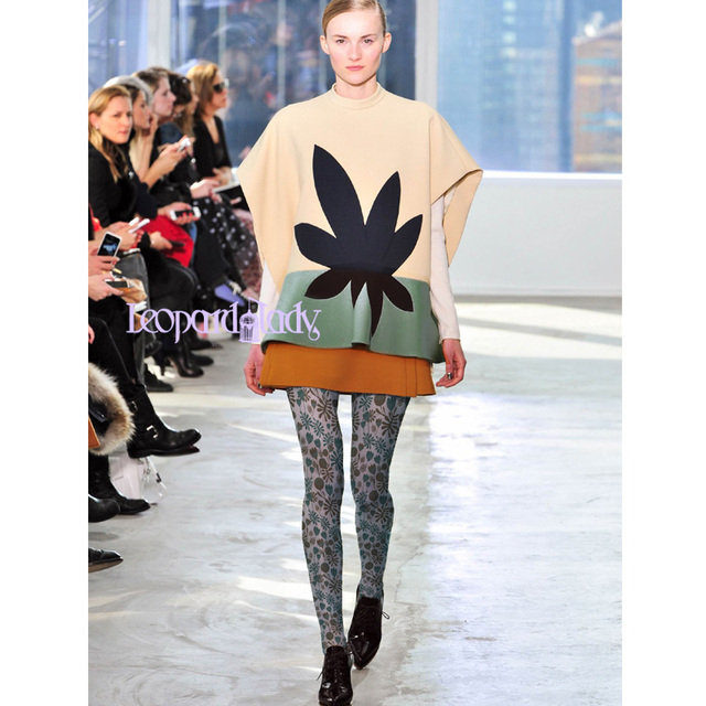 2016 Sale Stockings Pantis Woman Collant Fashionable Joker Pantyhose High-grade Plants Flower Printed Tights Show Custom Render