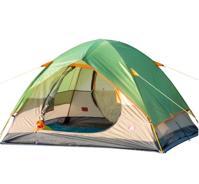 3 4 Bunk Ttent Camping Outdoor Leisure Tents Beach Breathable Wind Rain Double Tent