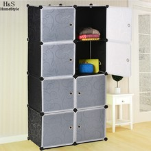 Homdox 8 Cubes DIY Wardrobe Closet Plastic Wardrobe Closet Organization Wardrobes for Sale Custom Closets Coat Closet N1525