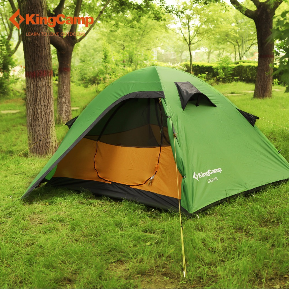 KingC& Outdoor Tent Durable Waterproof 5000mm Portable Ultralight Waterproof 2 layer Windproof 2 Person 3 Season C&ing Tent -in Tents from Sports ... & KingCamp Outdoor Tent Durable Waterproof 5000mm Portable ...