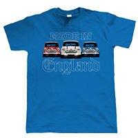 Made In England, Mens Yêu Nước Xe T Áo Sơ Mi-Cooper Mk1 Mk2 Món Quà Lý Tưởng cho Cha Cotton Giá Thấp Top Tee cho Chàng Trai Tuổi Teen T-Shirt