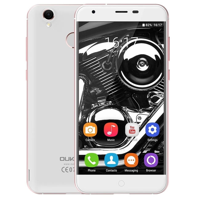 Original Oukitel K7000 MTK6737 Quad Core Android 6.0 Mobile Phone 5.0 Inch Cell Phone 2G RAM 16G ROM 4G Unlock Smartphone