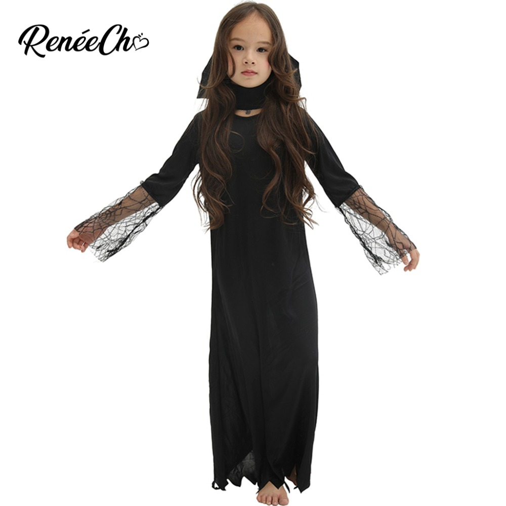 Halloween Costume for kids Child Vampire Costume boys costume 2018 cheap black girl long fancy dress for party devil cosplay