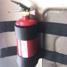2 יח\סט באיכות גבוהה נוח מוצק בטוח אוניברסלי אש מכונית תיקון להקת מחזיק הרכבה חגורת כלוב סוגר #282168