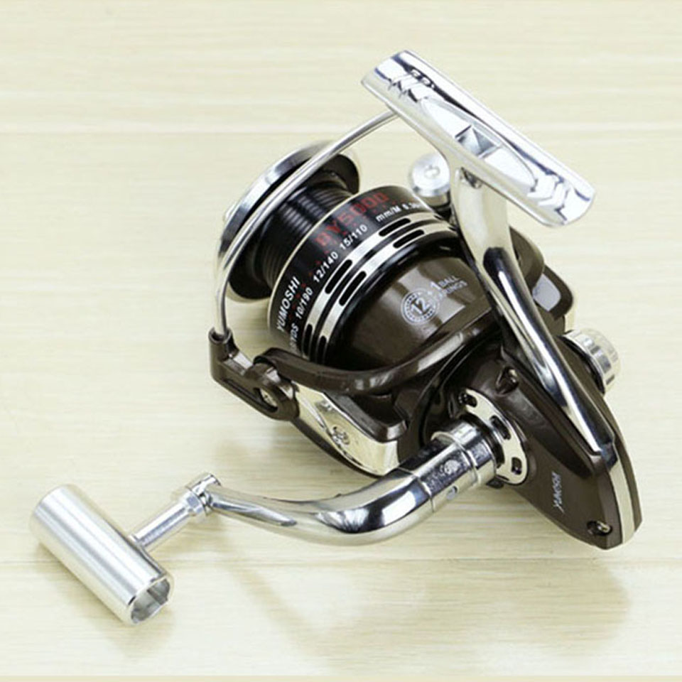 Most Popular BY1000-7000 Smooth Spinning Reel Fishing Reel 1 pcs 12+1 BB Without Gaps Carp Fishing Bait Runner Reel europe most popular narita x5 smooth spinning reel fishing reel 1 pcs 9 1 bb carp fishing reel bait runner fishing reel