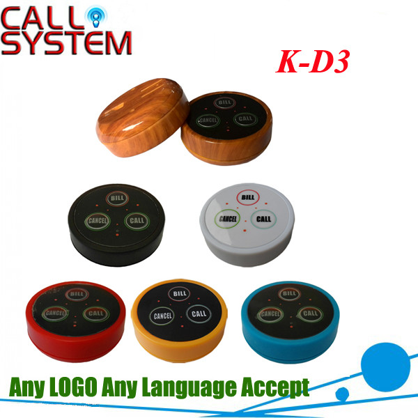 K-D3 6 colors call button