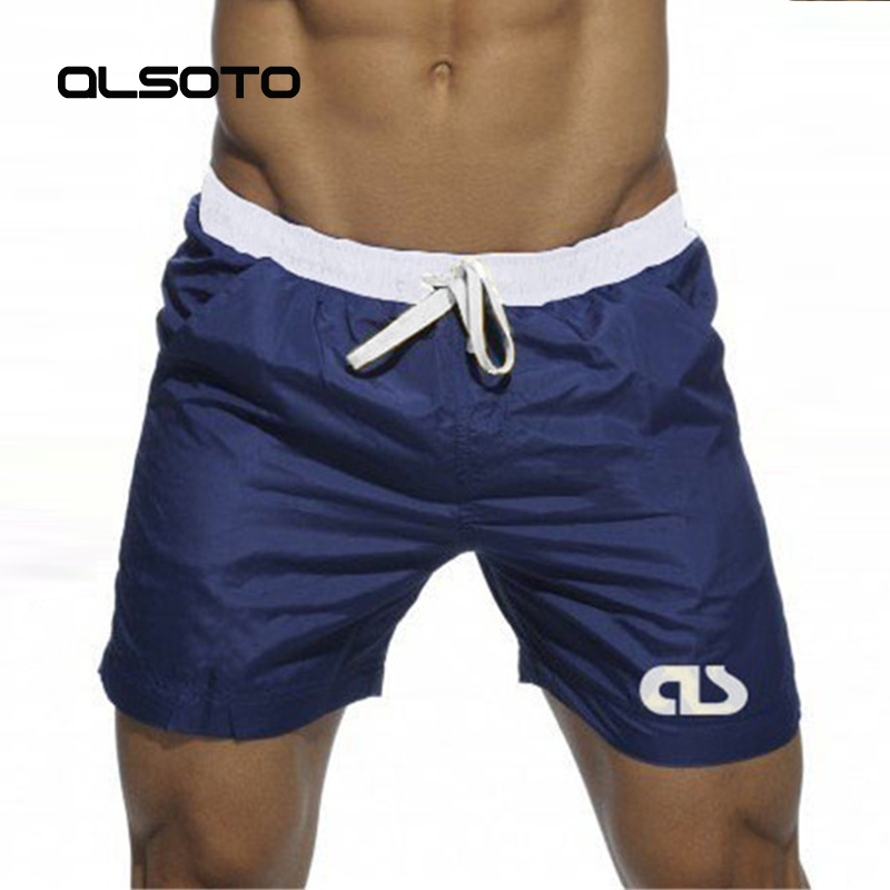 Swim   Shorts   For Man Beach Wear Bermuda   Board     Shorts   Summer Sexy Surf mayo Swimwear Bathing Quick Dry Gym   short   de bain homme