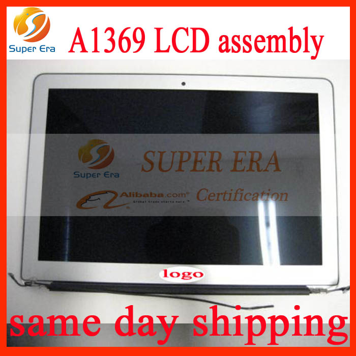 Original New A1369 A1466 Display Assembly for Macbook Air 13 A1369 A1466 LCD Assembly 2010-2012year 661-5732 661-6056 661-6630 a1369 new original a1369 assembly for apple macbook air 13 lcd display assembly a1369 a grade new and original 2011 year