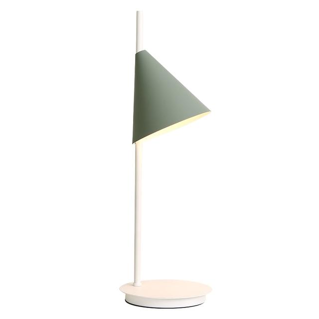 Nordic Modern Simple Macaron Table Lamp Colorful Pink Yellow Green