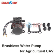 Brushless Mini Water Pump Plant Protection Pump Micro pressure backflow type diaphragm for 5KG 10KG Agricultural UAV