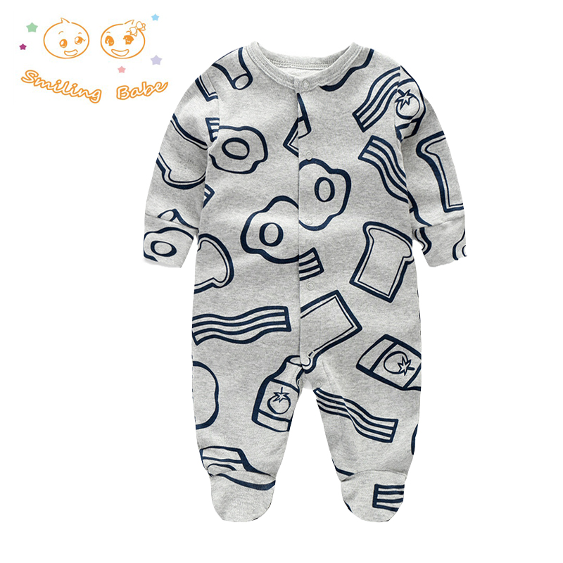 2017 Spring Autumn Baby Romper 100% Cotton Newborn Baby Clothes Long Sleeve Baby Girl Clothing Cartoon Jumpsuit Infant Clothes newborn baby rompers baby clothing 100% cotton infant jumpsuit ropa bebe long sleeve girl boys rompers costumes baby romper