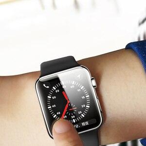 Image 5 - Suntaiho 10D Volle Abdeckung Schutz film Für Apple Uhr Screen Protector 40 44mm für ich Uhr 4 film Serie 1/2/3/4 nicht glas film