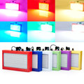 Mini Voiced Control 390RGB SMD5050 LED Disco Party DJ Par Home Light Music Show Strobe Projector Stage Lighting Effect