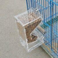 Chim Feeder Tự Động Container Thực Phẩm Gà Parrot Tích Hợp Feeder Tự Động Sparrow Chim Nhỏ Feeder Gia Cầm Lồng Chim Trang B