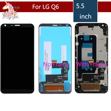 LCD For LG Q6 LCD Screen for LG G6 MINI LCD Display With Touch Screen Digitizer Assembly Complete Q6 M700 M700A G6 MINI M700N ipartsbuy high qualiay lcd screen touch screen digitizer assembly for lg g2 d800 d801 d803 f320