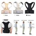 Aptoco Corrector de postura de terapia magnética cinturón de apoyo de espalda al hombro para hombres y mujeres