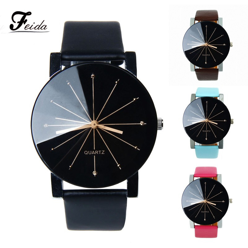 Hot 4Colors Watches Women Relogio feminino Fashion Ladies Watch Sport Wristwatch relojes hombre 2016 Watch Men Wholesale Feida